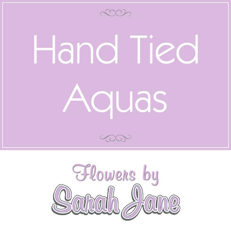 Hand Tied Aquas